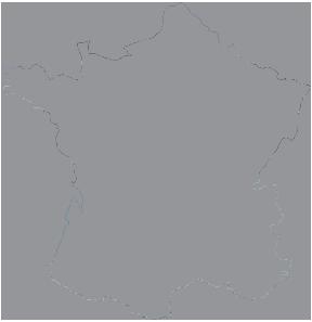 מפה צרפת
