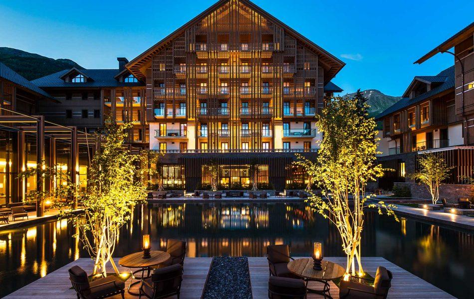 מלון יוקרה בשוויץ במסע פורשה